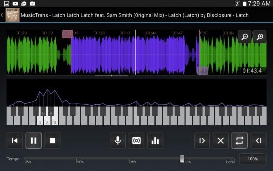 MusicTrans App